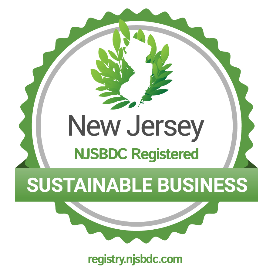 NJ registered Sustainable Business Memeber